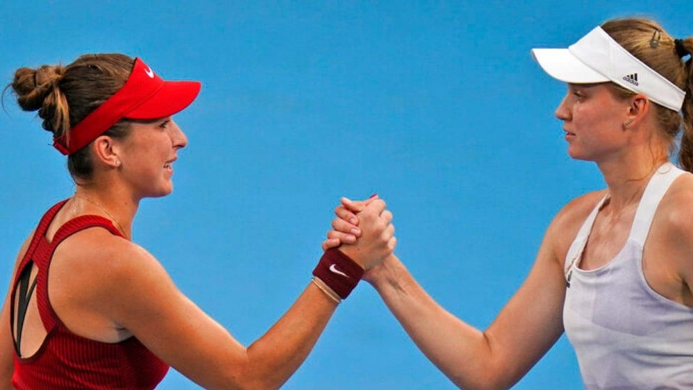 Switzerland's Belinda Bencic reached the gold medal in Tokyo 2020