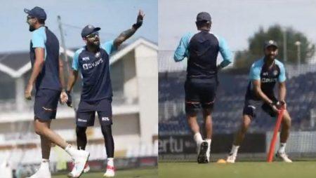 Virat Kohli, Rohit Sharma Team Work vs Ashwin, Pujara In India Fun Game