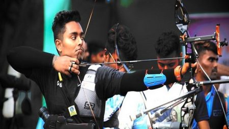 Atanu Das came up with one of his biggest Olympic performances