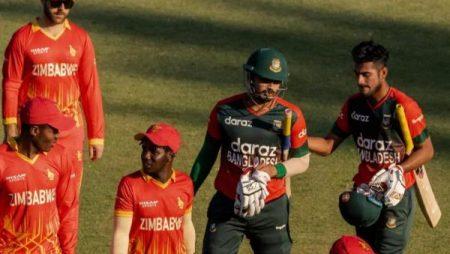 Mohammad Naim and Soumya Sarkar help Bangladesh vs Zimbabwe