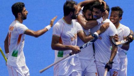 Varun Kumar, Prasad, and Singh reach quarter-finals in men's hockey
