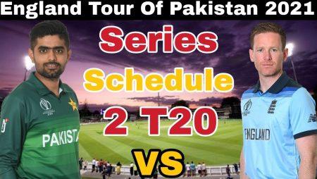 Pakistan Tour in England 2021