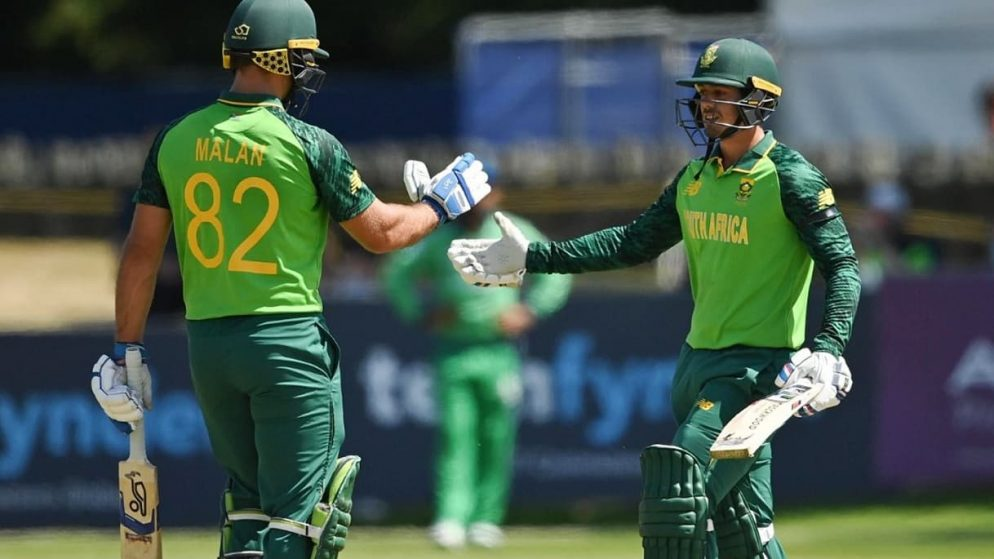 By 70 Runs South Africa Beat Ireland As Series Ends 1-1