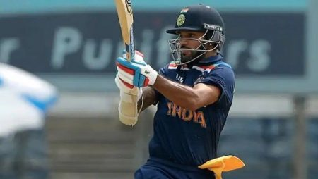 Shikhar Dhawan On ODI Record In Maiden Series As Captain