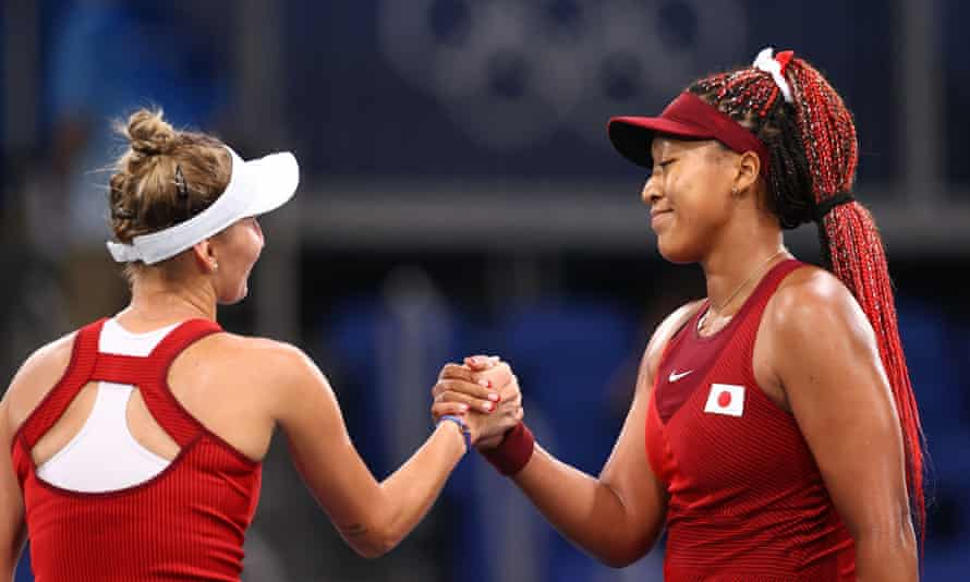 Naomi Osaka was feeling happy of 1st Olympic experience even defeated