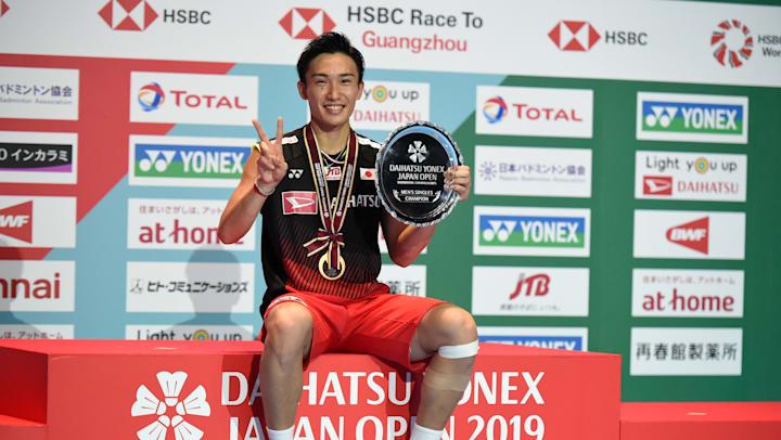 Kento Momota: Japan's World No.1 badminton player lost the first round