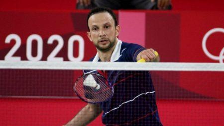 Kevin Cordon of Guatemala defeated South Korea's Heo Kwanghee