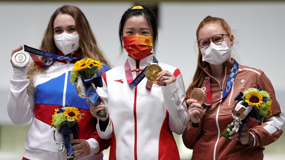 Yang Qian of China wins 1st gold of Tokyo Olympics 2020
