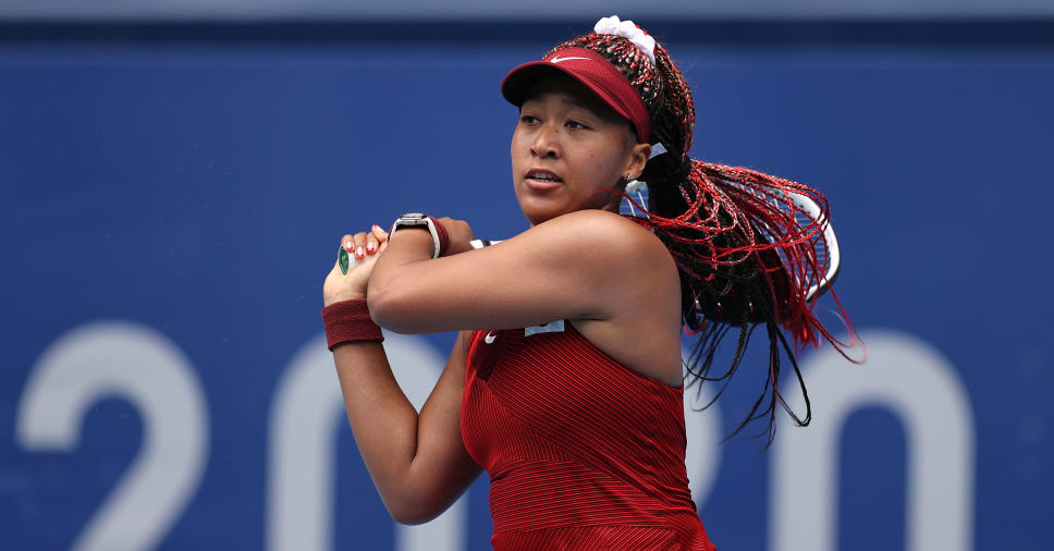 Naomi Osaka knocked out after straight-set defeat in Tokyo Olympics 2020
