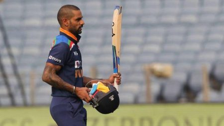 Shikhar Dhawan Jumps 2 Places To 16th In ICC ODI Rankings