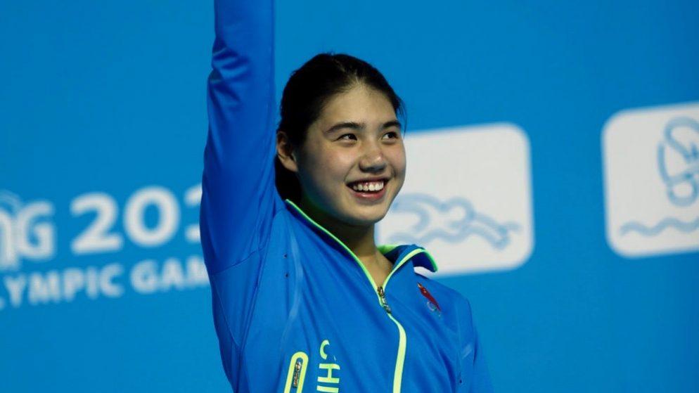 """China's  Zhang Yufei aka """"Butterfly Queen in Tokyo Olympics 2020"""