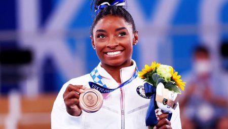 Simone Biles a US gymnast wins Bronze medal at Tokyo Olympics 2020