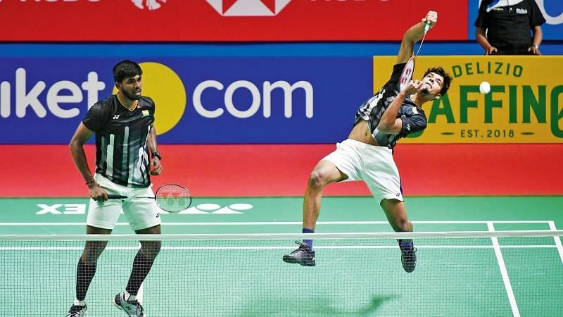 Satwiksairaj Rankireddy and Chirag Shetty vs Ben Lane and Sean Vendy