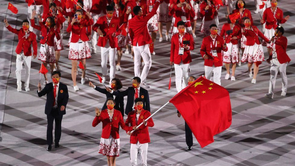 China's online trolls outbursts against Taiwan and Japan Olympic athletes