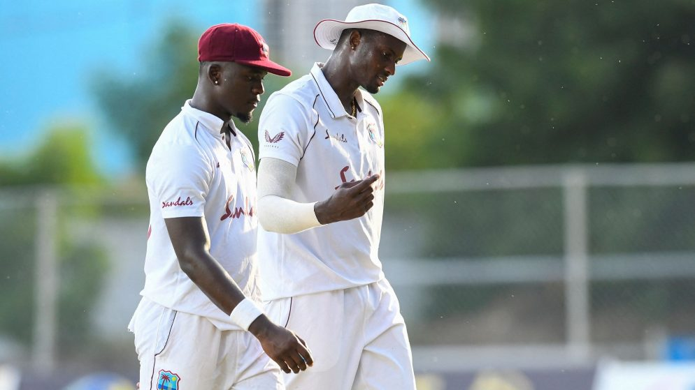 Kemar Roach and Jayden Seales won over Pakistan  in the first Test in Jamaica