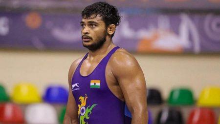 Deepak Punia lost the semi-final against David Morris to battle for wrestling