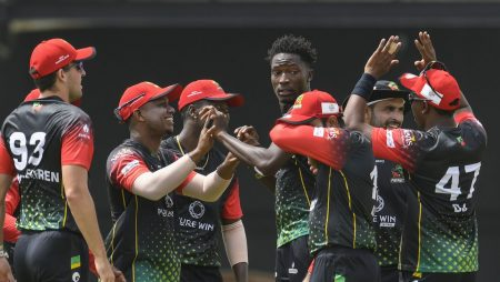 St Kitts And Nevis Patriots Beat Guyana Amazon Warriors in Caribbean Premier League: CPL 2021 updates