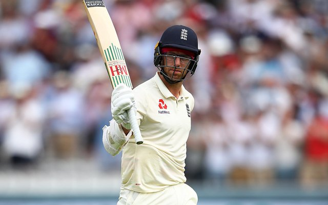 Jack Leach believes England's performance against India