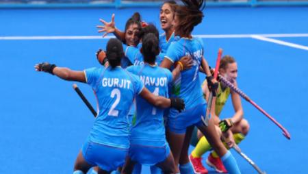 Vidya Malvade: India beat Australia 1-0 to reach the 1st Olympic semi-final