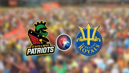 CPL 2021: St Kitts and Nevis Patriots Lord Over Barbados Royals in Caribbean Premier League 2021