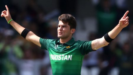 Shaheen Shah Afridi of Pakistan took 10 wickets to the second test