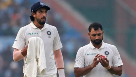 Ishant Sharma and Mohammed Shami exchanged complement very well Steve Harmison said on the fifth day of the Lord's Test