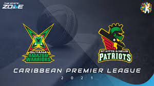 CPL 21: St Kitts And Nevis Patriots Vs Guyana Amazon Warriors in Caribbean Premier League