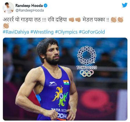 Wrestler Ravi Kumar Dahiya secured India's fourth medal in Tokyo 2020