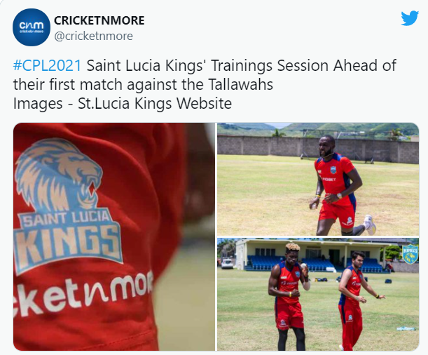 Saint Lucia Kings introduced the New Team Jersey for Caribbean Premier League: CPL 2021