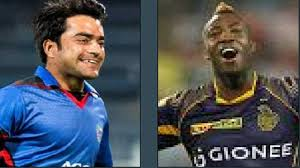 Andre Russell Hilariously imitation of Rashid Khan's Trademark in Caribbean Premier League