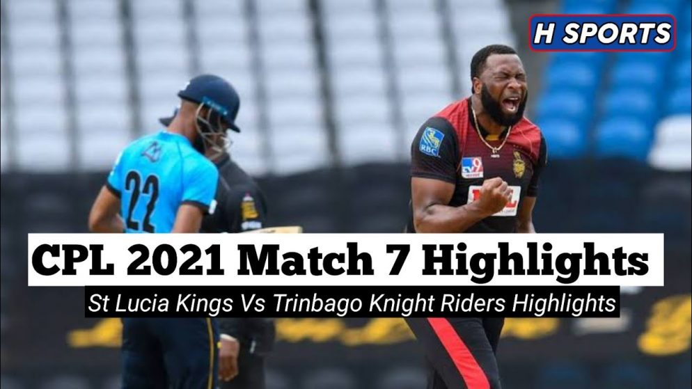 Trinbago Knight Riders vs Saint Lucia Kings the Cricket Match Prediction: CPL 2021