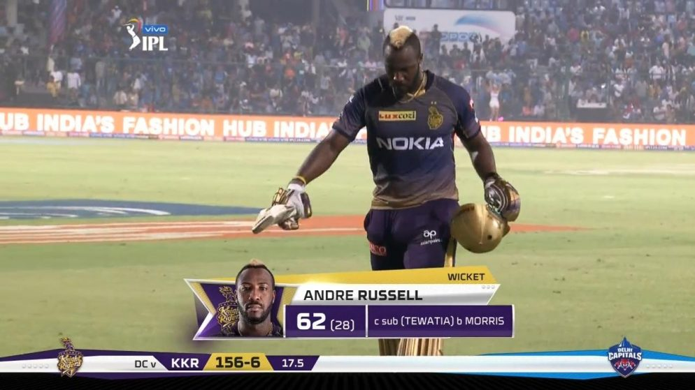 """Andre Russell says """"I planned it"""" to AB de Villiers in the Indian Premier League: IPL 21"""