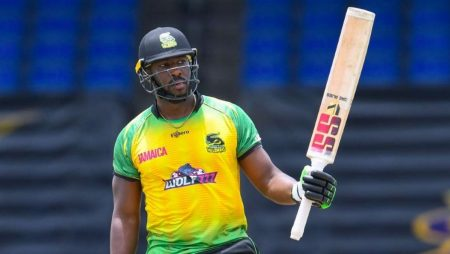 Andre Russell as the Fastest Smashes of Fifty in Caribbean Premier League History: CPL 21