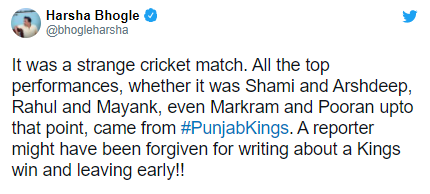 "Aakash Chopra says ""Jeete match ko jo haarta hai, usko aaj kal Punjab Kings kahte hain"" in IPL 2021"