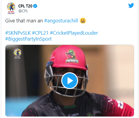 Sherfane Rutherford run-out due to misunderstanding in Caribbean Premier League: CPL 21