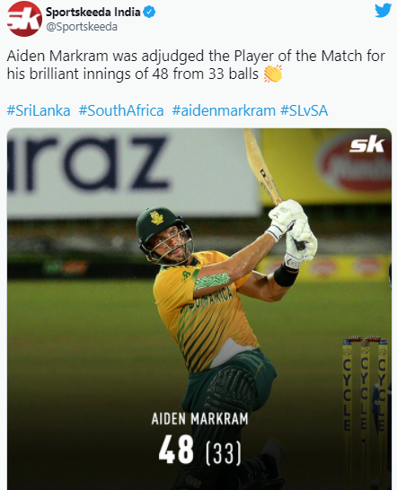 Aiden Markram as a substitute of Dawid Malan at Punjab Kings for Indian Premier League: IPL 2021