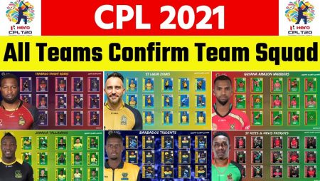 CPL 2021 franchises announce the final list for the 2021 season tournament