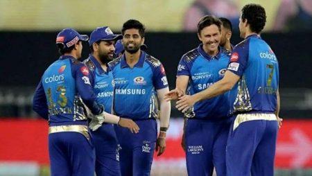 Aakash Chopra knocks for the Mumbai Indians in IPL 2021