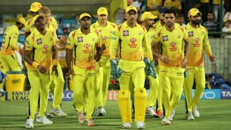 Chennai Super Kings receives a grand welcome after reaching the final in IPL 2021