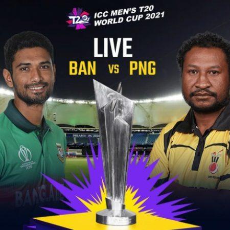 Bangladesh vs Papua New Guinea Match Prediction in T20 World Cup