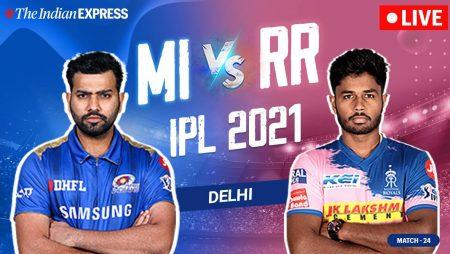 Brian Lara prediction of a match between Rajasthan Royals vs Mumbai Indians: IPL 2021