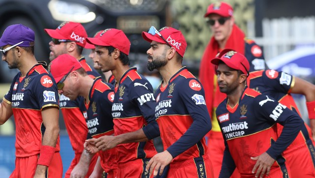 Royal Challengers Bangalore's Dressing room scenes in IPL 2021
