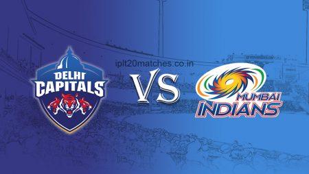Mumbai Indians vs Delhi Capitals in the Indian Premier League: IPL 2021