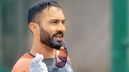 Dinesh Karthik was fined for breaching the Code Of Conduct of IPL