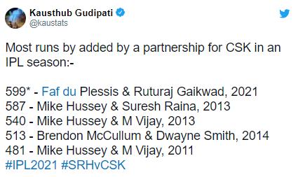 "Ruturaj Gaikwad says ""It's been a great turnaround"" in IPL 2021"