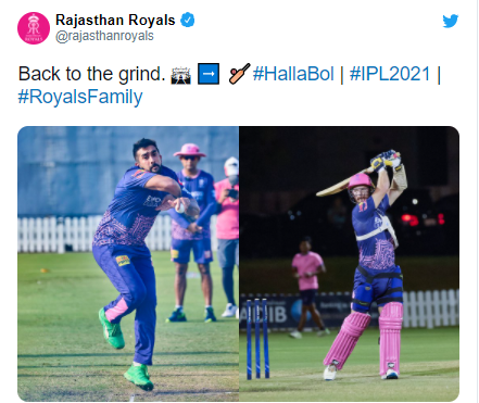 "Chris Morris praises Rajasthan Royals ""We see a guy like Chetan Sakariya getting picked to play for India"" in IPL 2021"