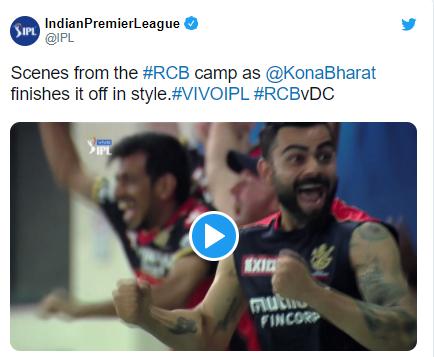 """Srikar Bharat says """"Glenn Maxwell said you can finish it off"""" in IPL 2021"""